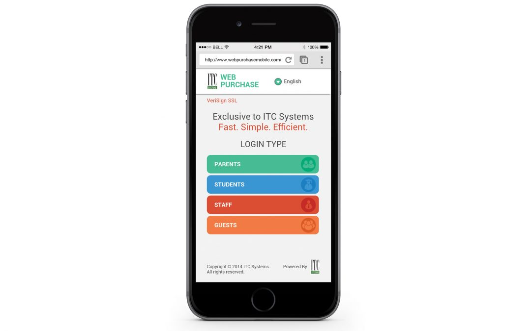 ITC Systems Releases Web Purchase Mobile